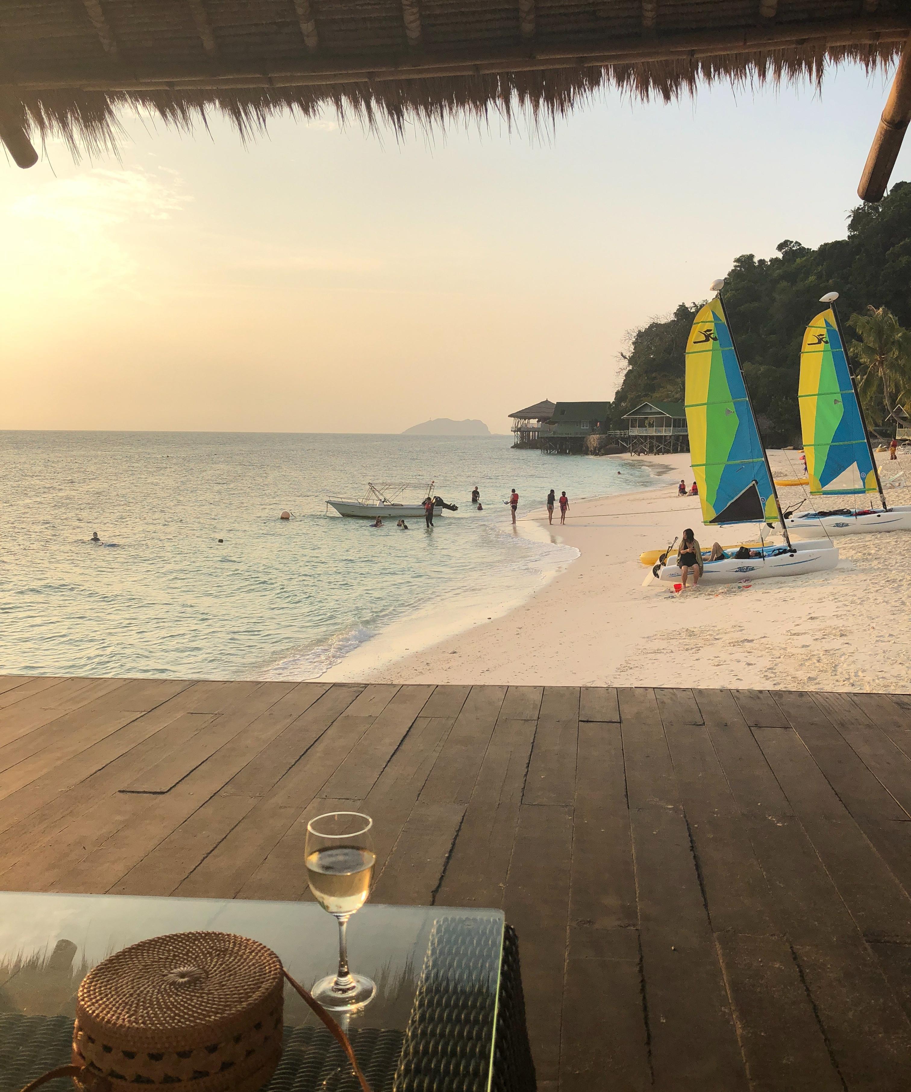 Beach at Rawa Island Resort, Malaysia