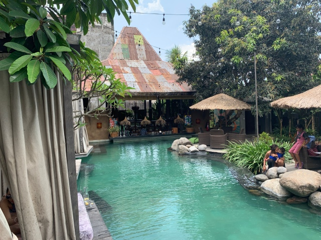Folk Pool & Gardens, Ubud, Bali