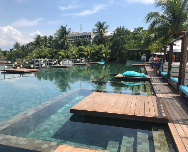 Adult Pool at Montigo Resorts, Batam