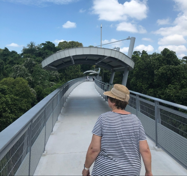 Sky Walk at Fort Siloso