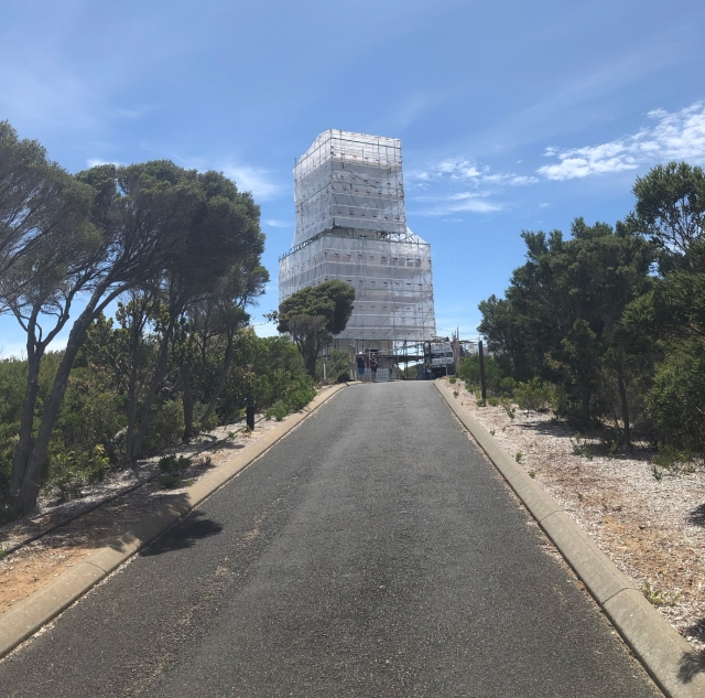 The actual short walk to the Cape Naturaliste Lighthouse