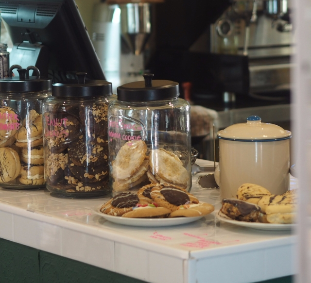 Freshly baked goodies at Cape Naturaliste Lighthouse Tea Rooms