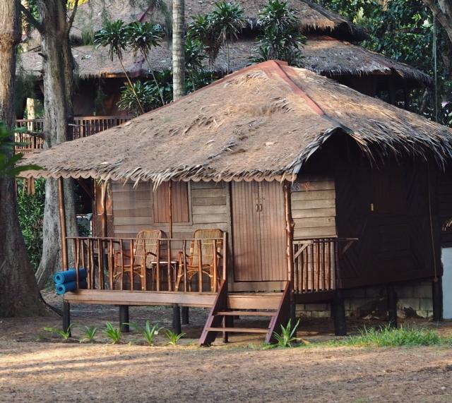Our little hut on Sea Gypsy Village Island