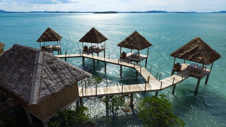 Spa at Telunas Private Island Resort, Indonesia (Image courtesy of Telunas Beach Resort)