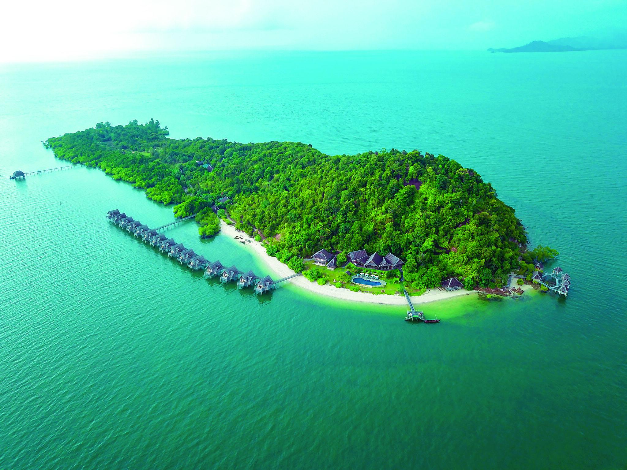 Telunas Private Island Resort, Indonesia (Image courtesy of Telunas Beach Resort)