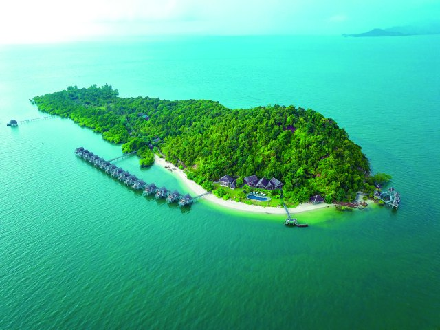 Telunas Private Island Resort, Indonesia (Image courtesy of Telunas Beach Resort)