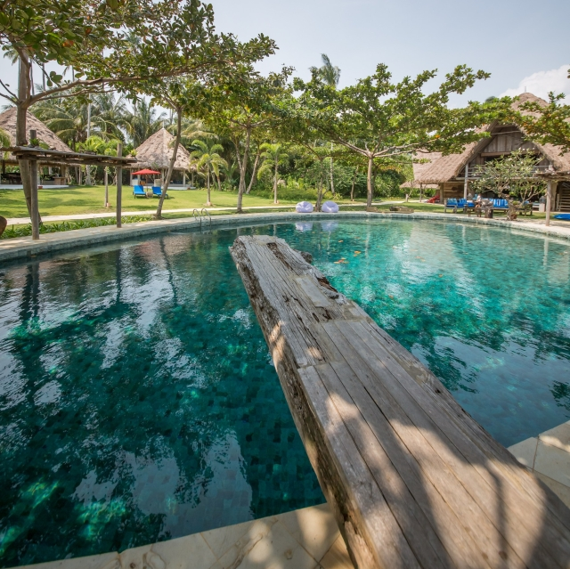 Pool at Joyo Island, Indonesia (Image courtesy of Joyo Island)