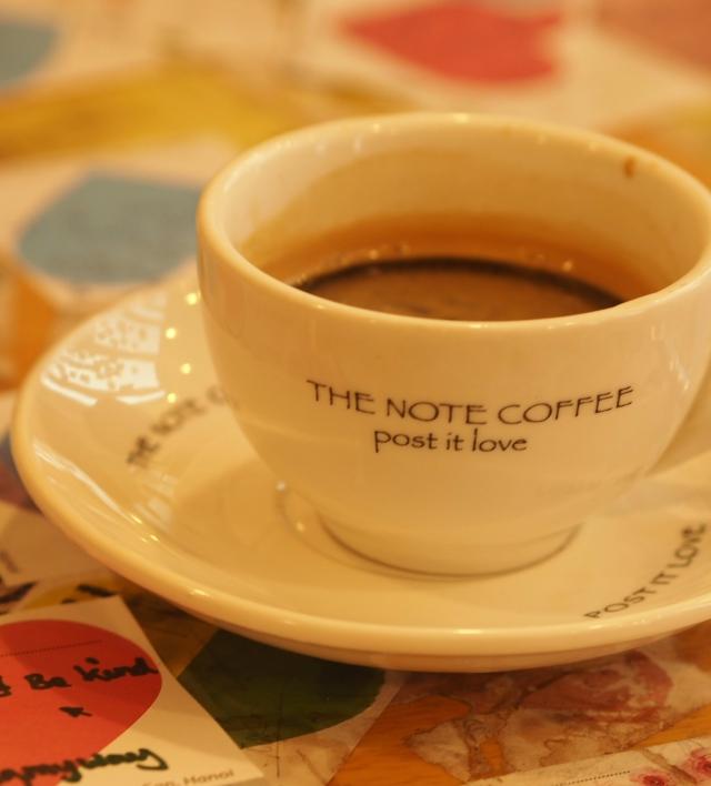 Note Cafe, Hanoi
