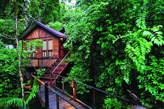Chalet at Japamala Resort, Tioman, Malaysia (Image courtesy of Japamala Resort)