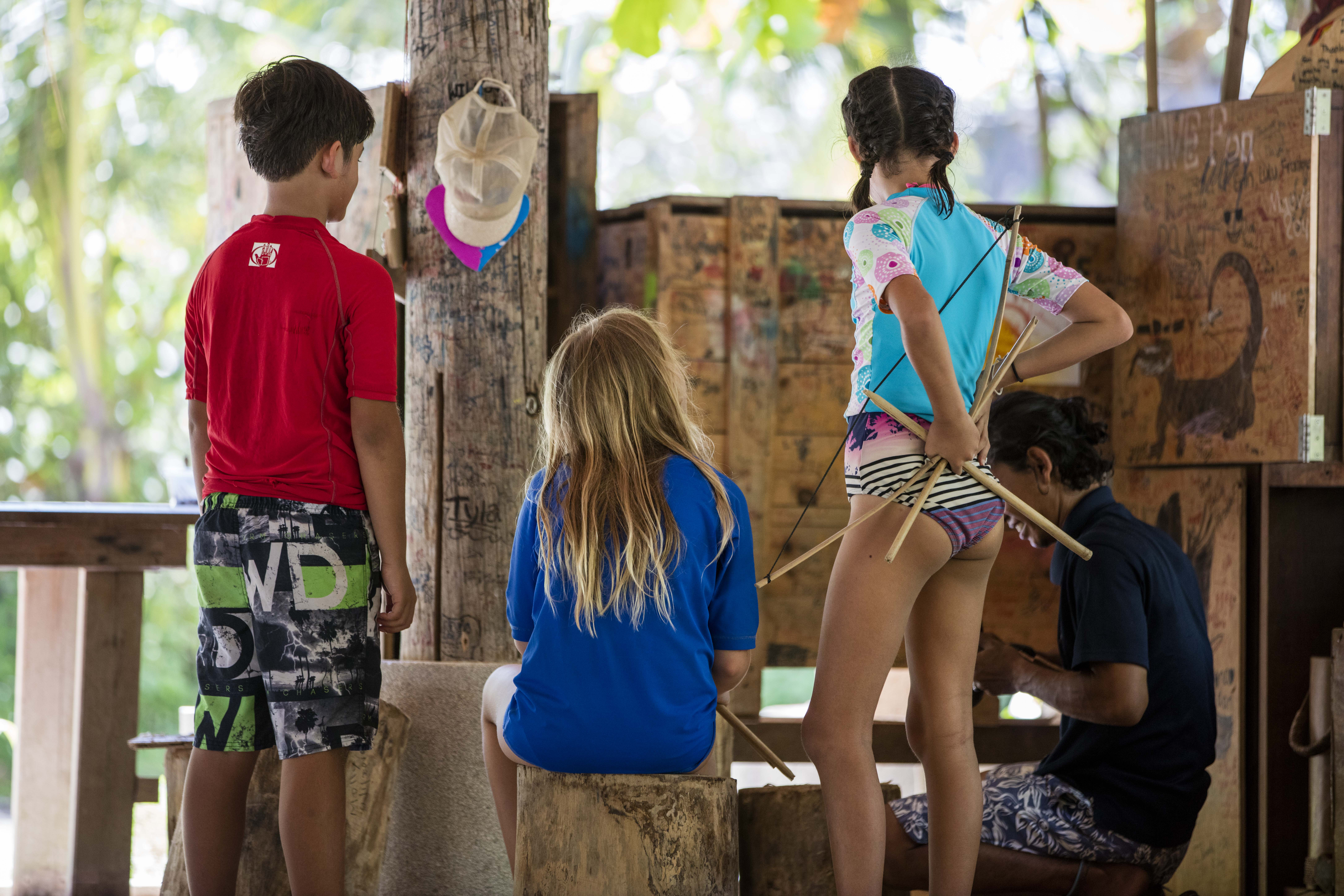 Kids Club at Nikoi, Indonesia. (Image courtesy of Nikoi Island)