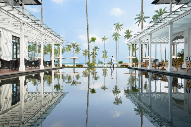 Pool at The Sanchaya Resort, Bintan, Indonesia (Image courtesy of The Sanchaya)