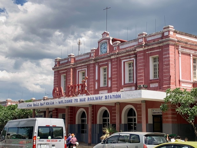 Hue Train Station, Vietnam