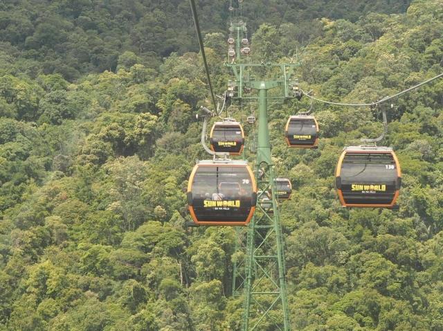 Cable Cars, Ba Na Hills, Vietnam