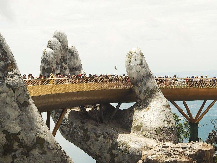 The Golden Bridgde, Ba Na Hills, Vietnam