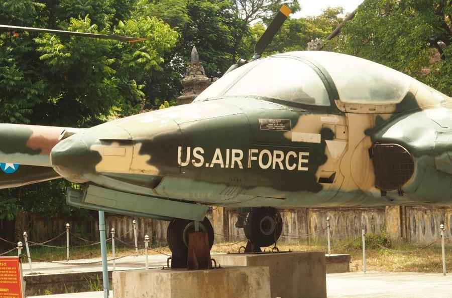 Plane museum, Hue, Vietnam