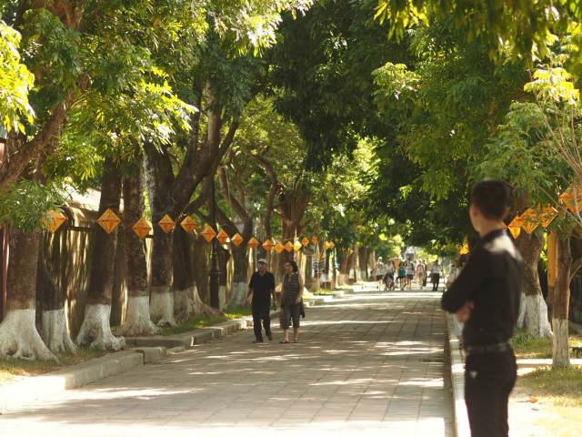 Beautiful streets of Hue