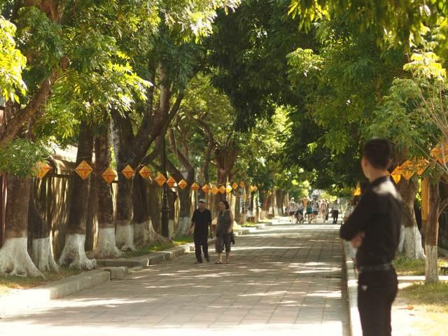 Beautiful streets of Hue