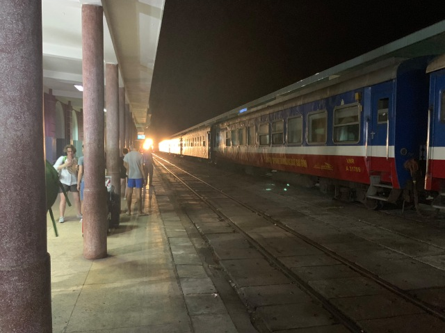 Leaving Hue Train Station