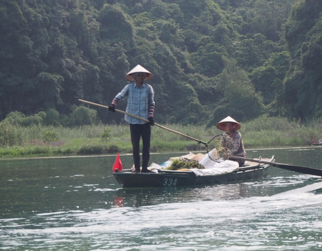 Sunshine Valley Boat Ride, Ninh Binh, Vietnam
