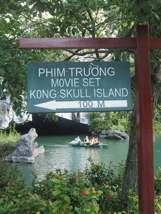 Kong Movie Set, Sunshine Valley Boat Ride, Ninh Binh, Vietnam