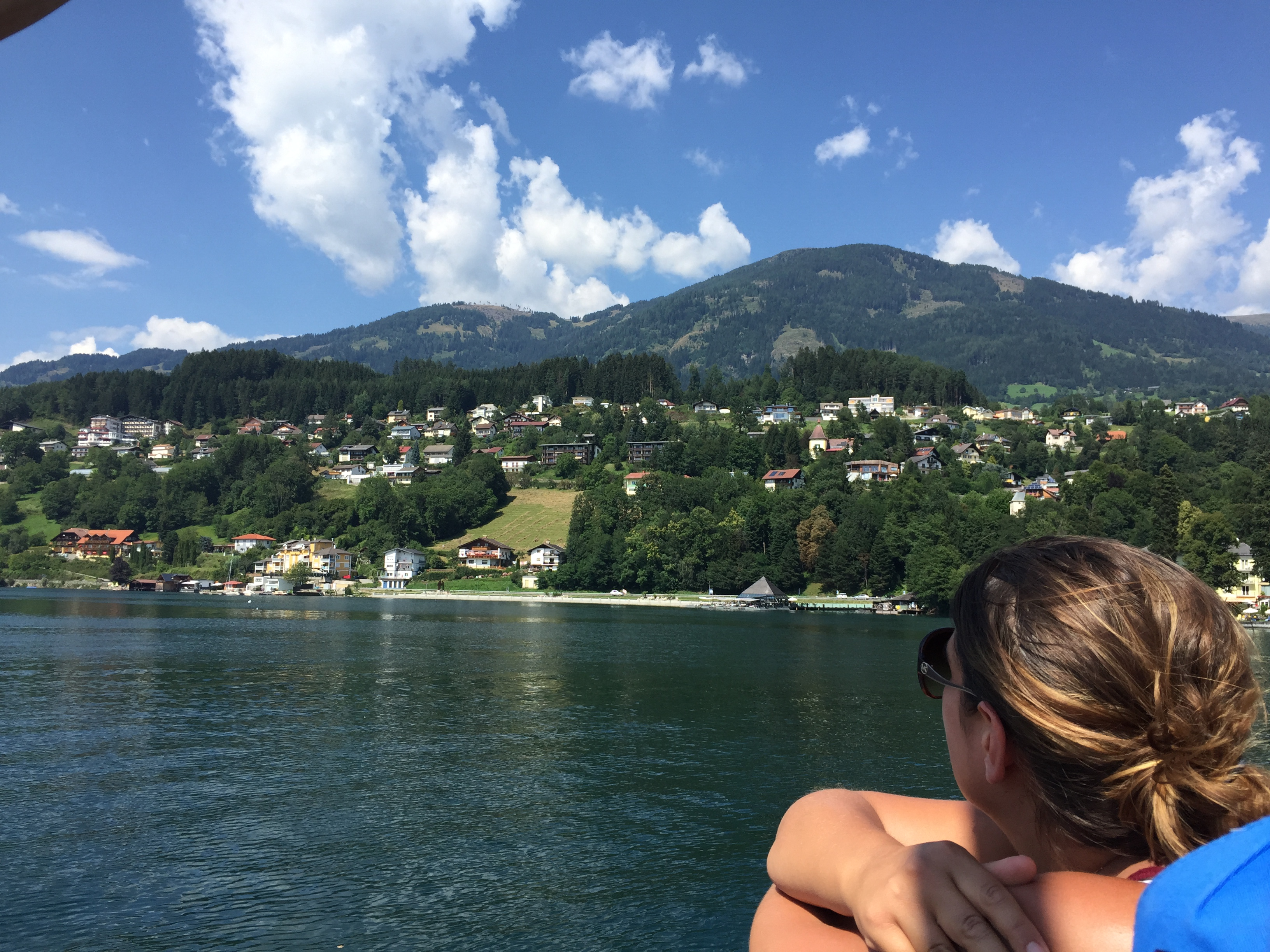 Looking out over Millstatt