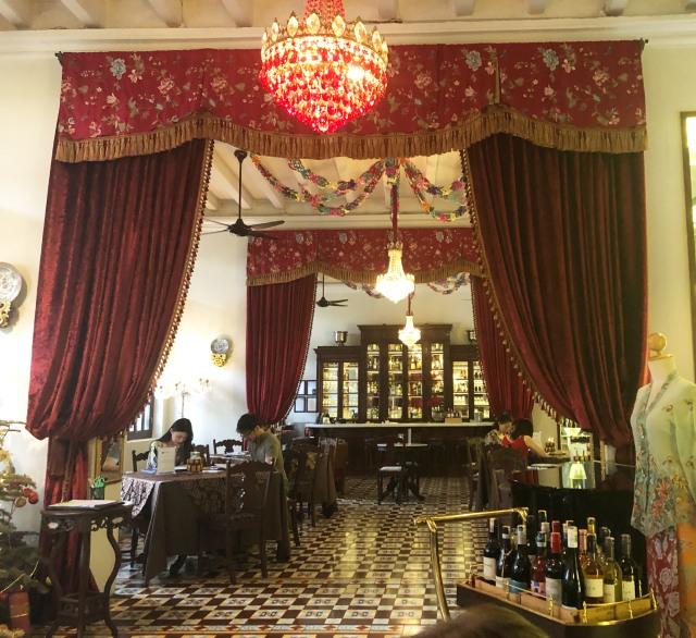 Kebaya Dining Room, The Seven Terraces Hotel, Penang