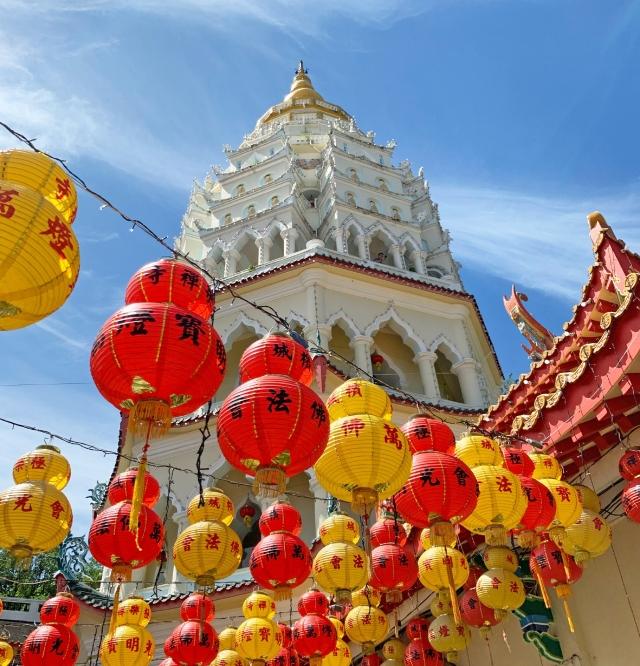 The Kek Lok Si Temple, Penang