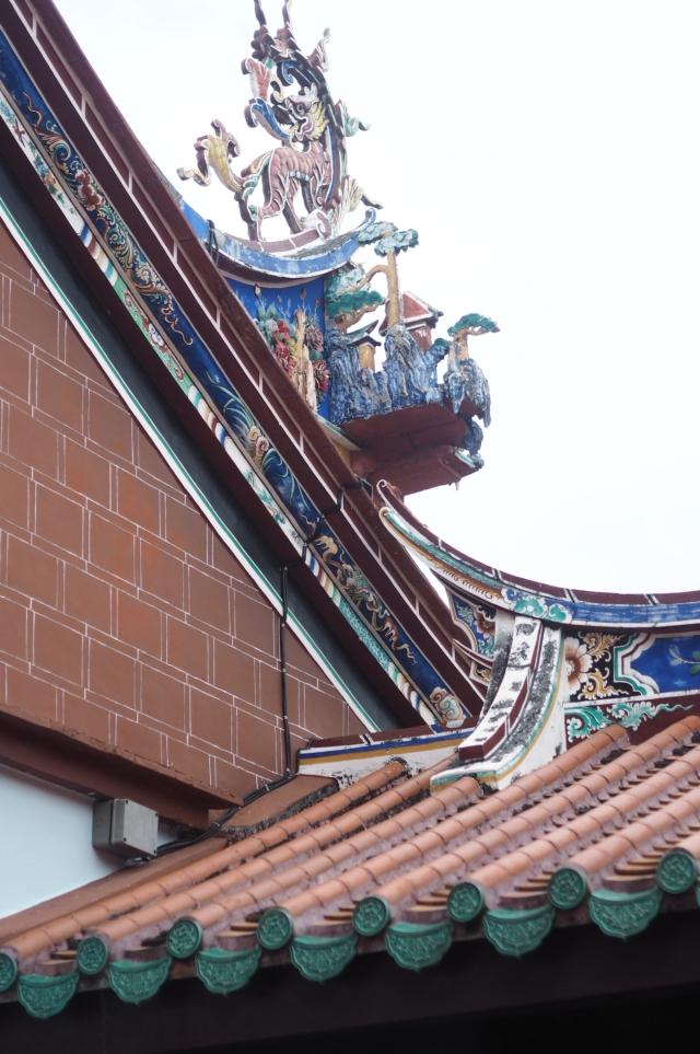 Roof Tops at Seh Tek Tong Cheah Kongsi, Penang