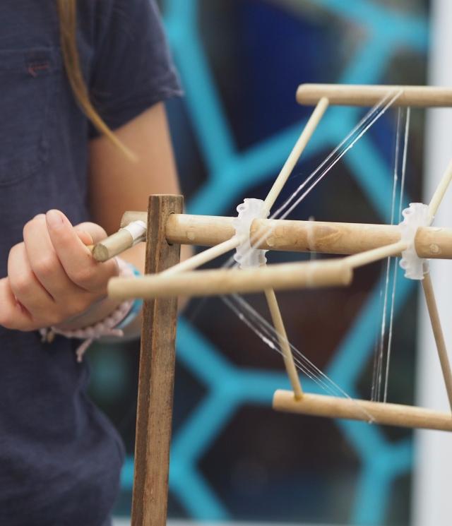 Silk spinning, Entopia, Penang