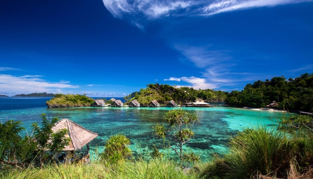 Misool Lagoon (Image courtesy of Misool Island, Photographer Ryan Salm)