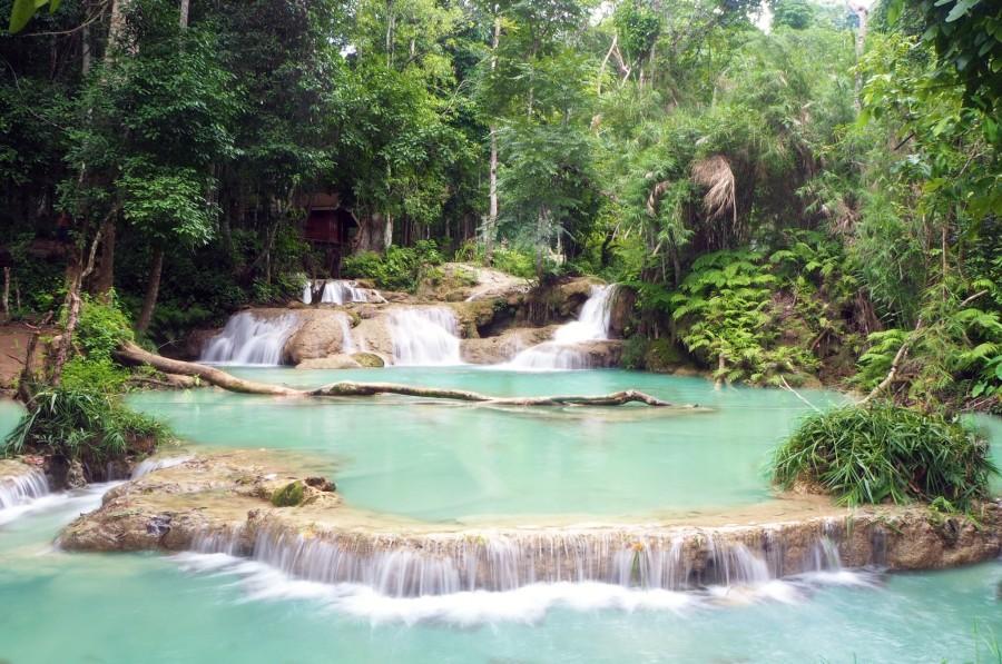 Waterfalls, Luang Prabang, Laos