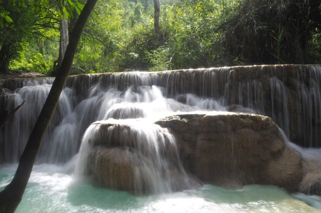 Waterfalls, Luang Prabang, Laos