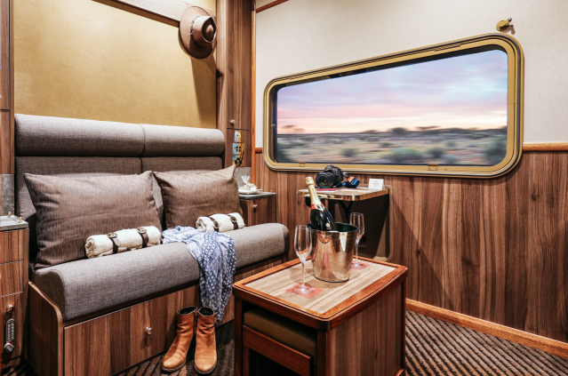 The Ghan (Image courtesy of Journey Beyond)